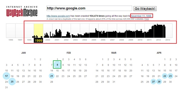 Waybackmachine-google