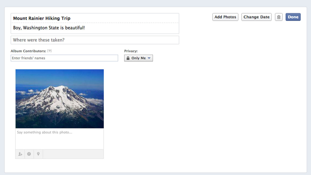 Facebook Shared Photo album Tutorial - 4