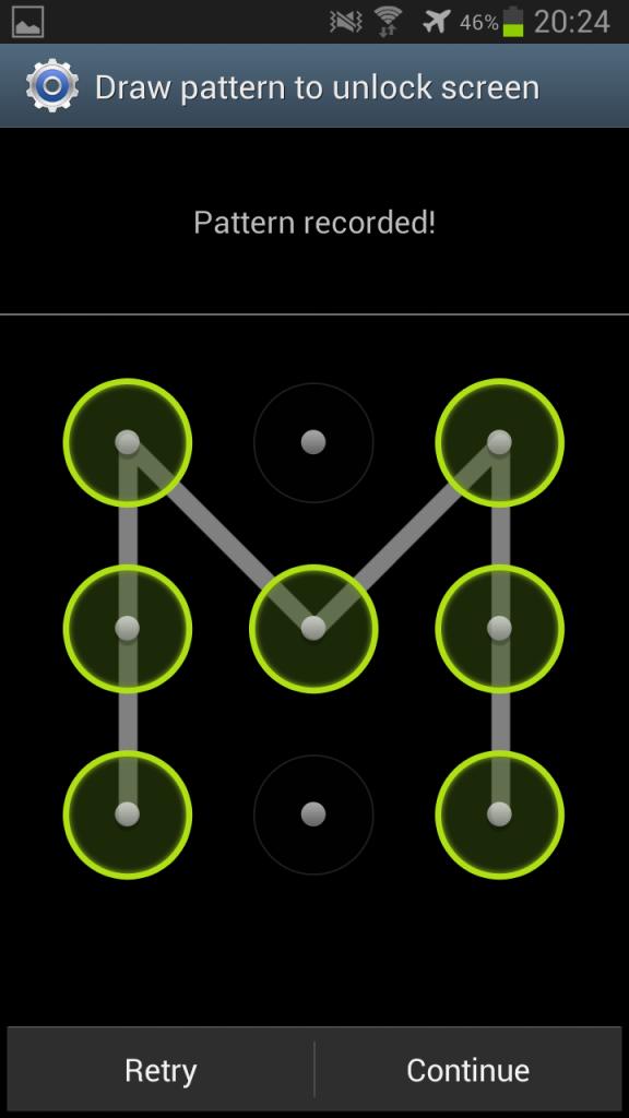 Pattern Lock Screenshot