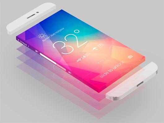 iPhone 6 - Wrap Around display