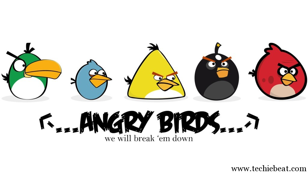 Angry Birds Game Wallpaper