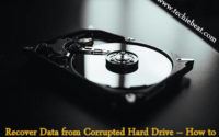 Hard Drive Photography