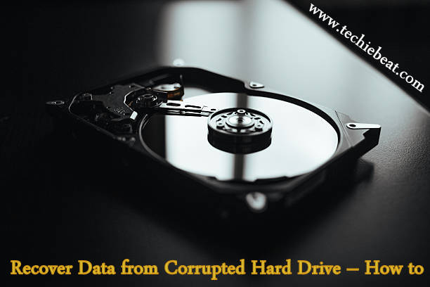 Steps to Retrieve Data from Crashed Hard Disk